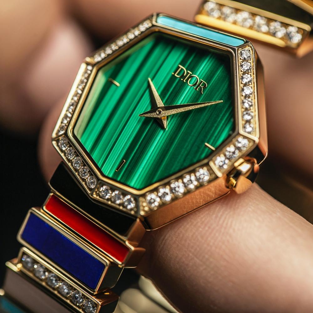 Gem Dior timepiece