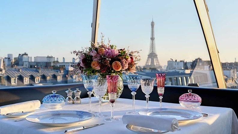 Le Rooftop at The Peninsula Paris, Paris, France