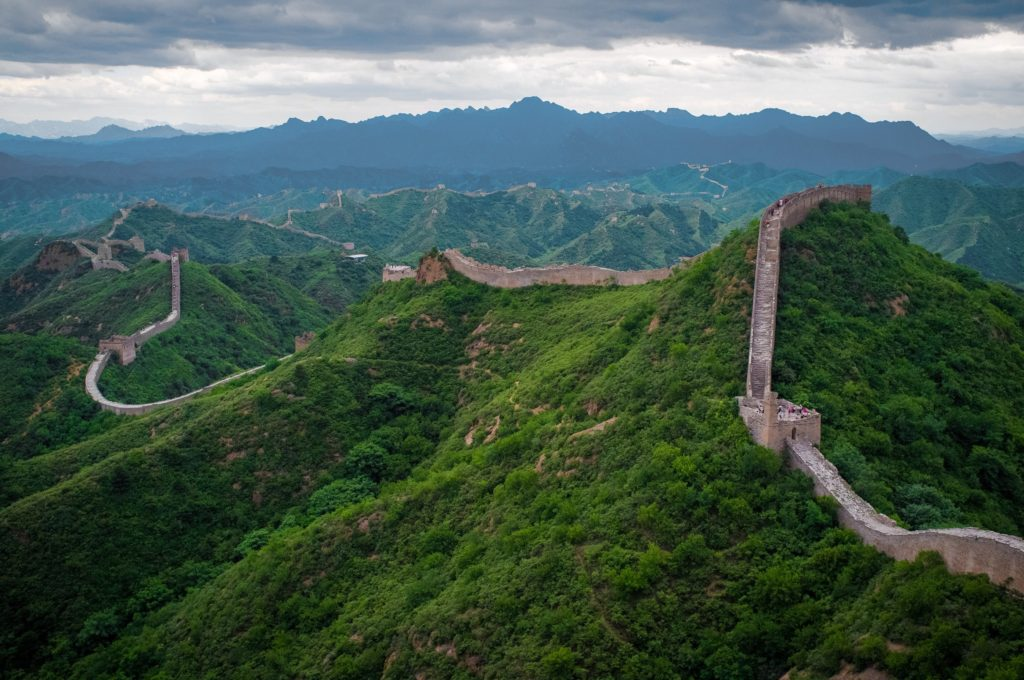 Jinshanling section of Great Wall of China