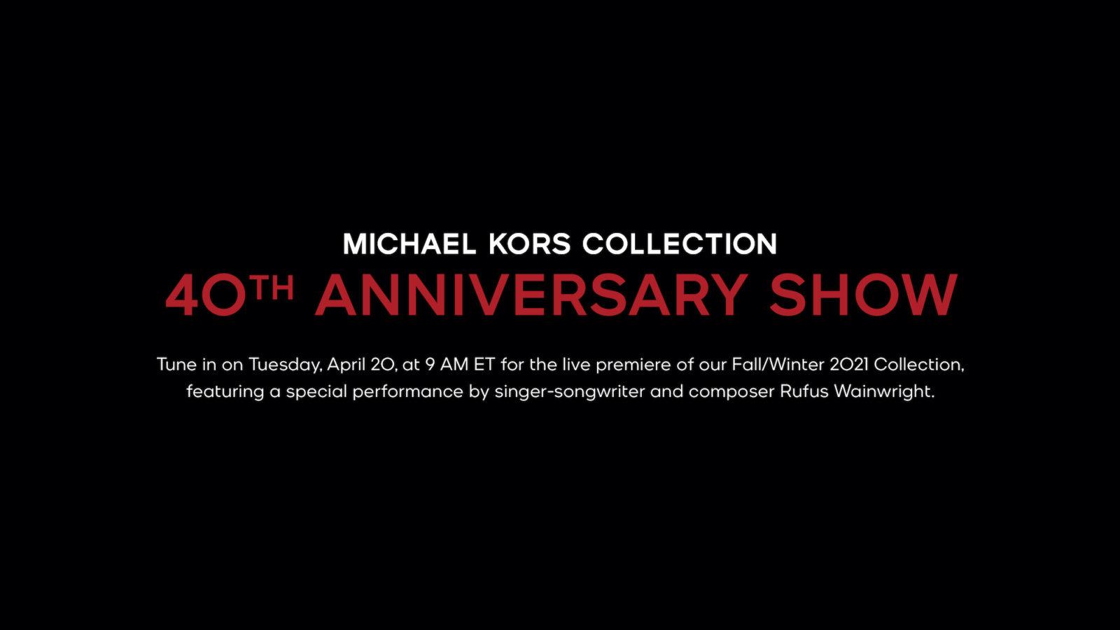 Livestream: Michael Kors Collection Fall 2021