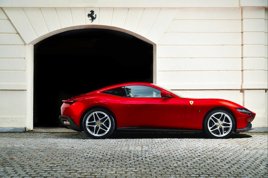 The Ferrari Roma: A Stunning 21st-century Reinterpretation of Italian Style and Design of the Period