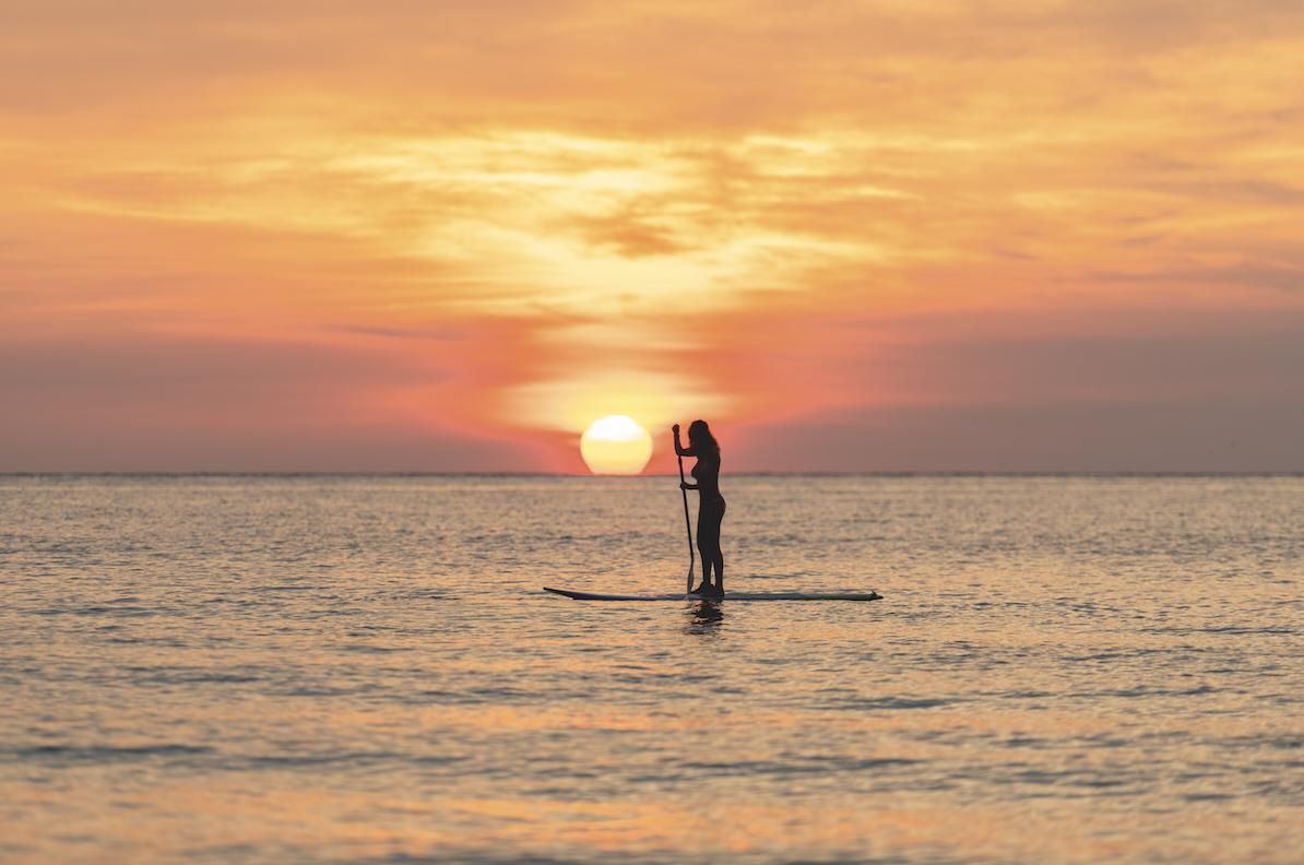 koh pha ngan paddle boarding