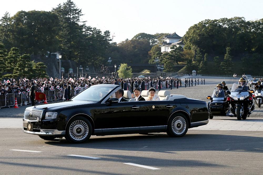 Emperor Naruhito Toyota Century Royal