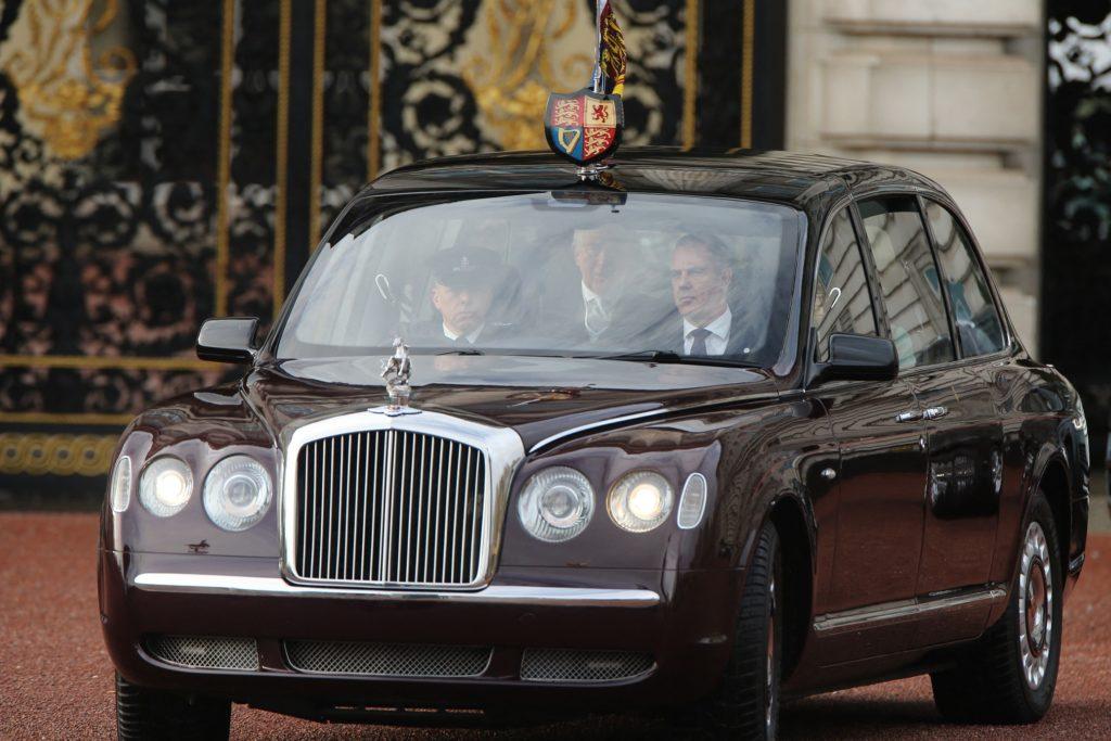 Queen Elizabeth Bentley State Limousine