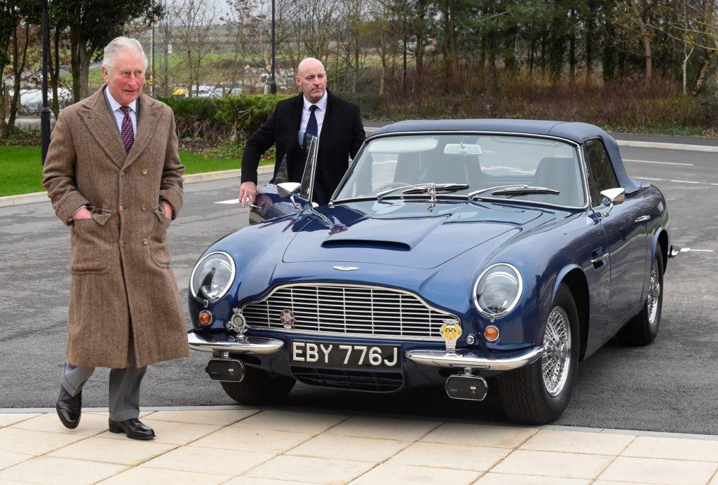 Prince Charles Aston Martin DB6 Volante