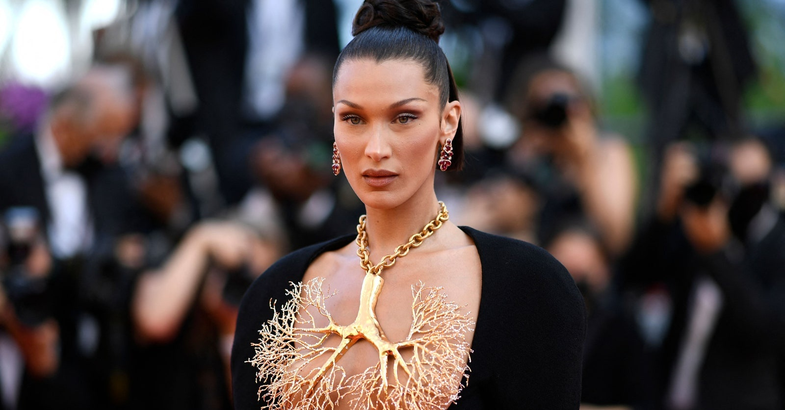 Bella Hadid had the best jewellery moment at the Cannes Film Festival 2021