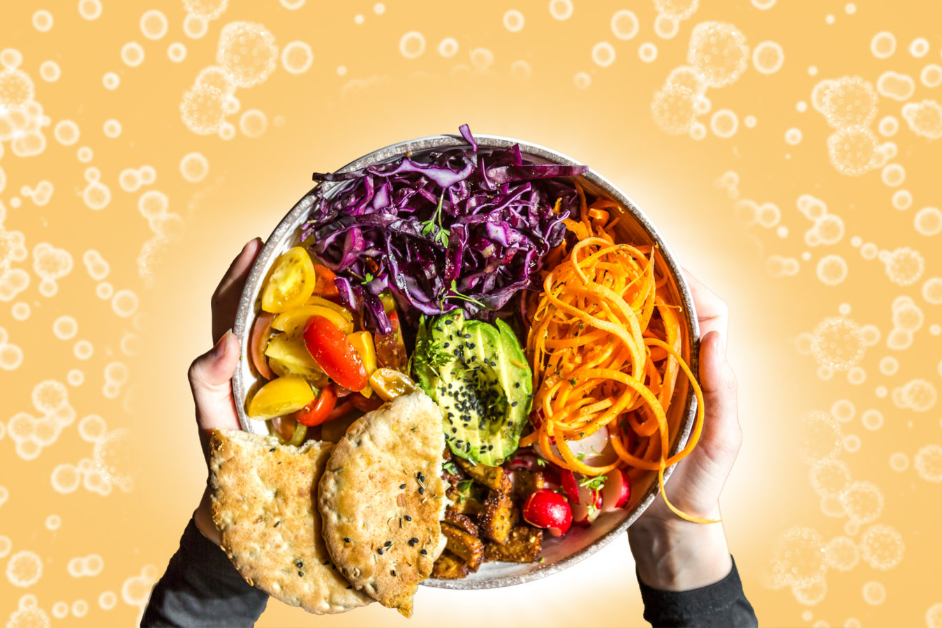 Can eating a plant-based diet lower your risk of developing severe COVID-19?