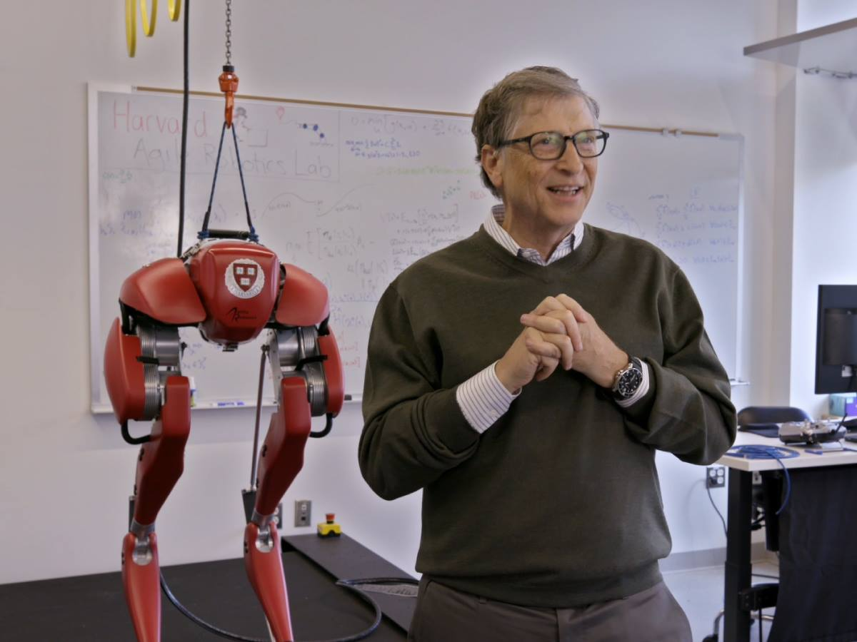 See Bill Gates' collection of automotive toys, from porsches to private jets
