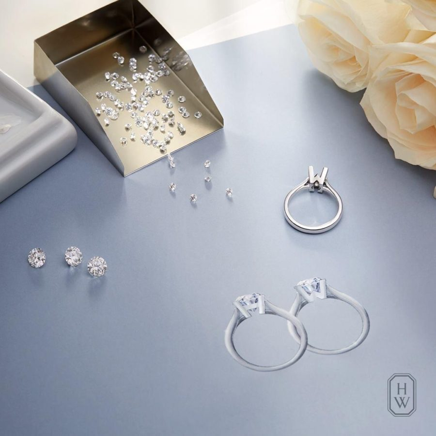 Celebrate your big day with emblematic jewels from Harry Winston