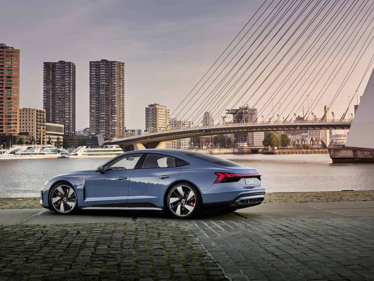 Audi e-tron GT: The future of driving is fast and emission-free