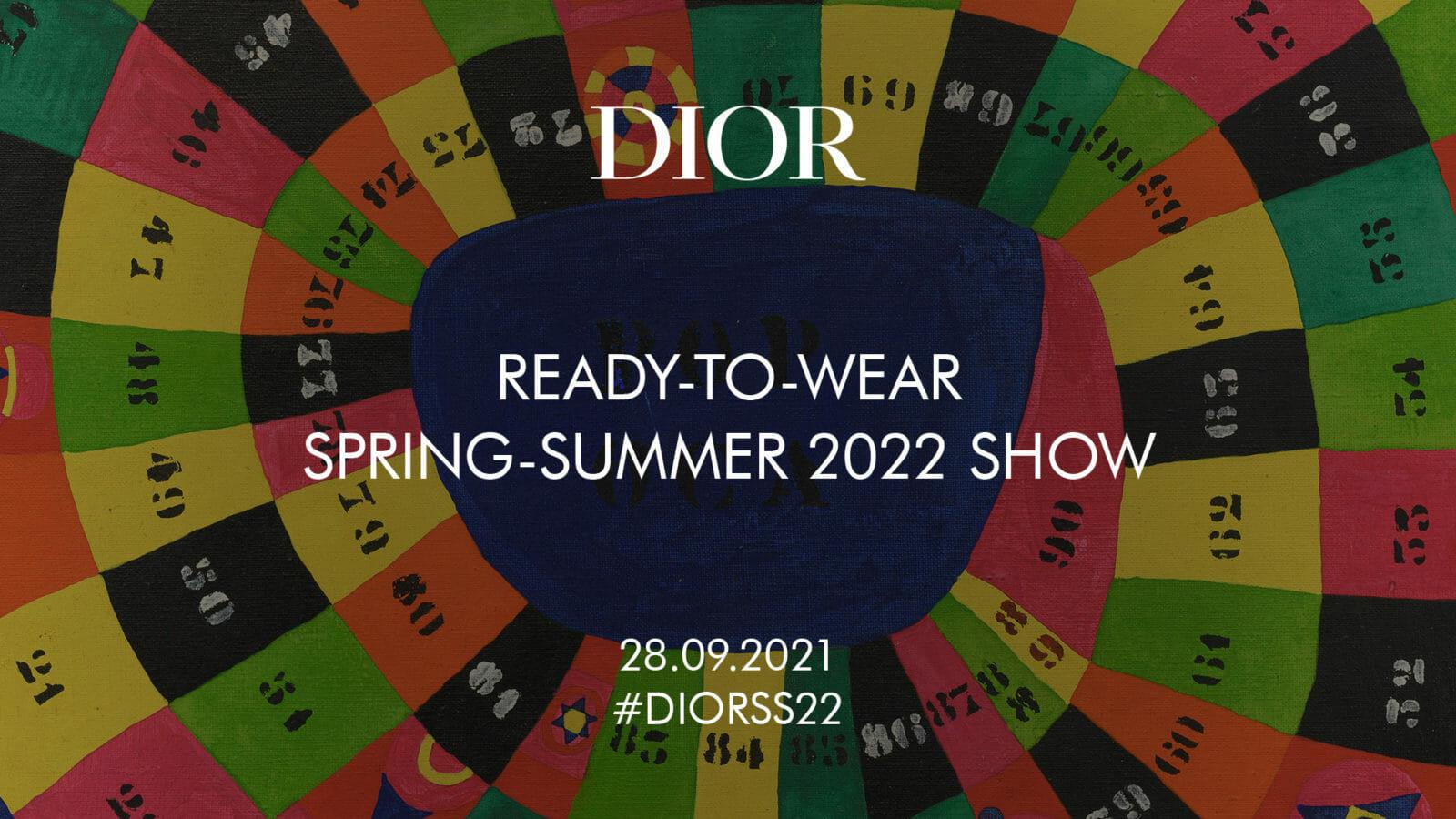 Livestream: Watch Dior Spring/Summer 2022 show here