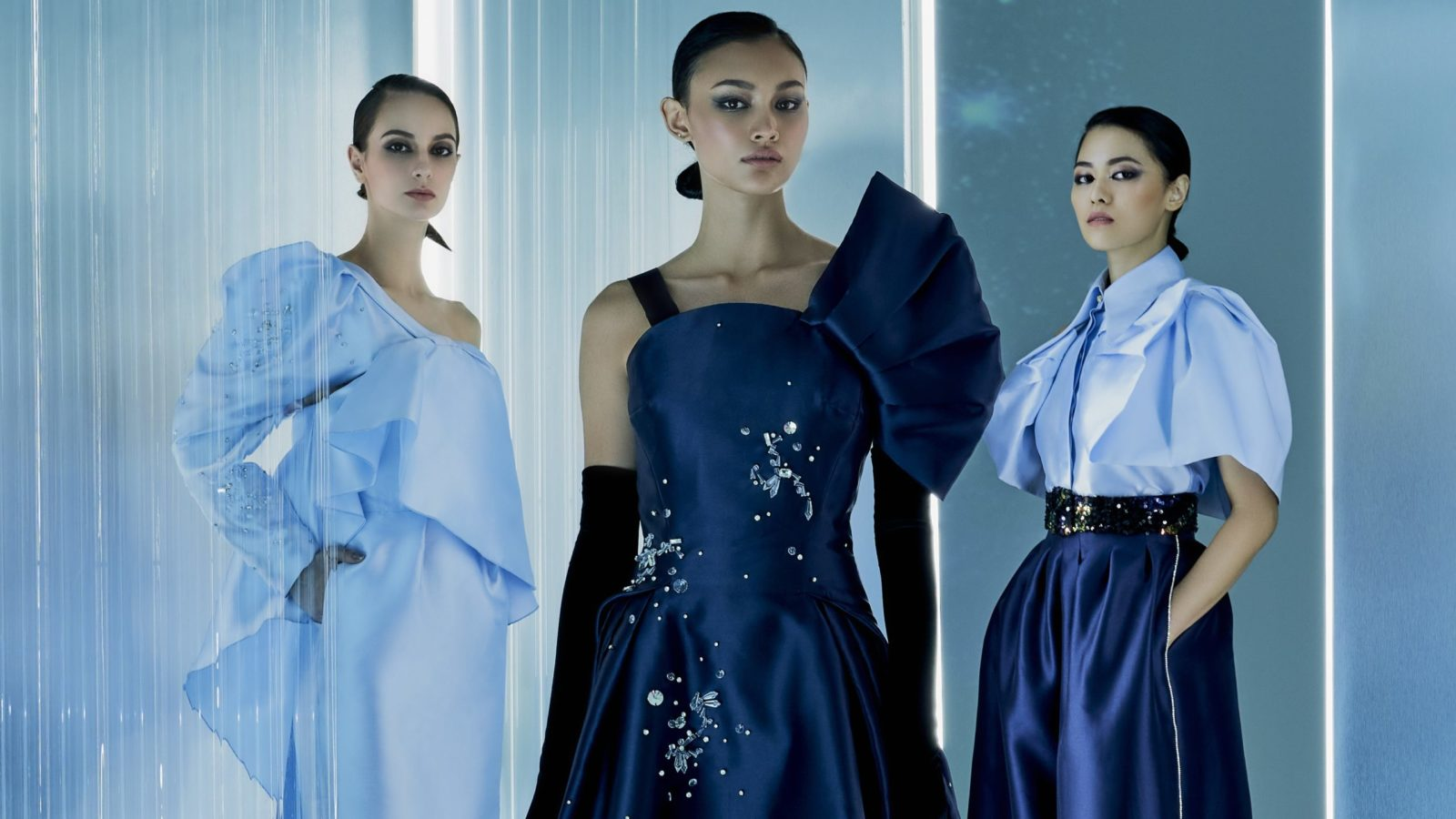 Khoon Hooi's futuristic Fall 2021 Collection takes inspiration from space