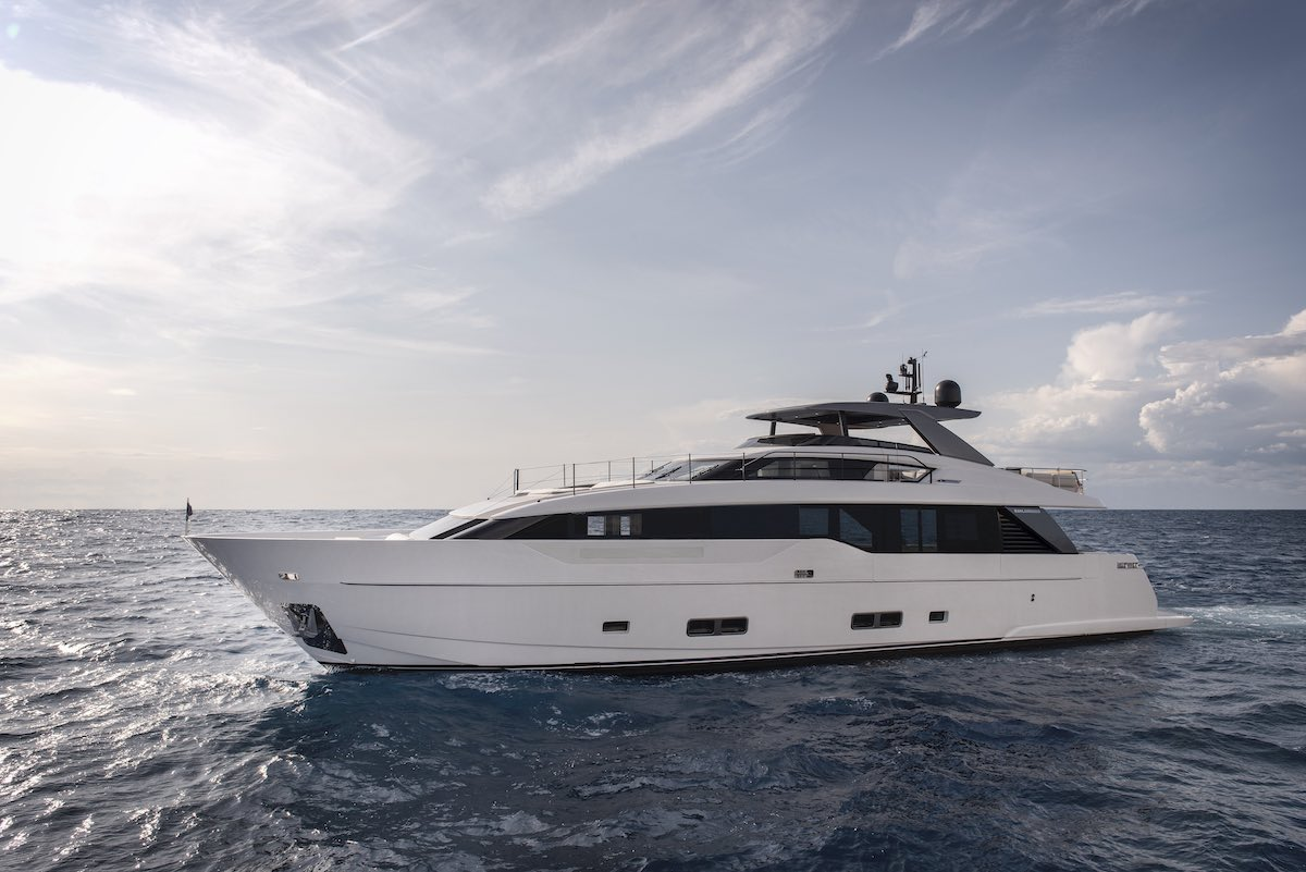 Set sail with Simpson Marine's latest luxury yachts by Sanlorenzo and Bluegame