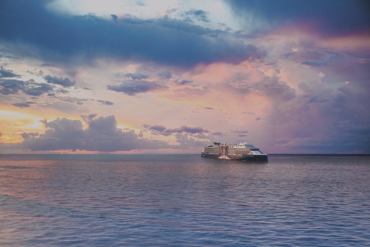 Celebrity Cruises' revolutionary Edge class ship, Celebrity Beyond, is set to make a big splash
