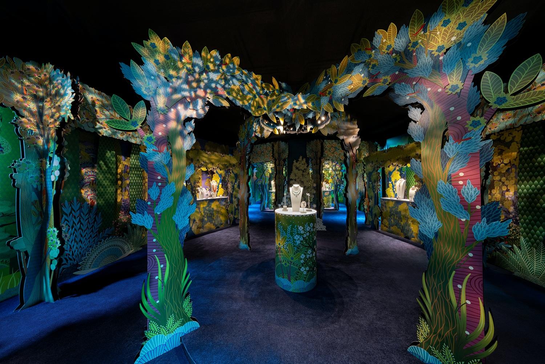 Entering Van Cleef & Arpels and Charlotte Gastaut's Enchanting Garden