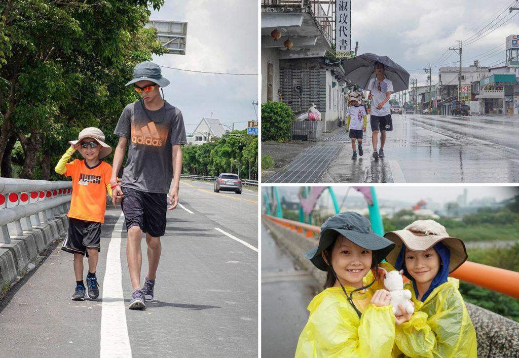 不論是豔陽或下雨,徒步旅行最迷人之處就在於那帶著一點點刺激的冒險感覺。