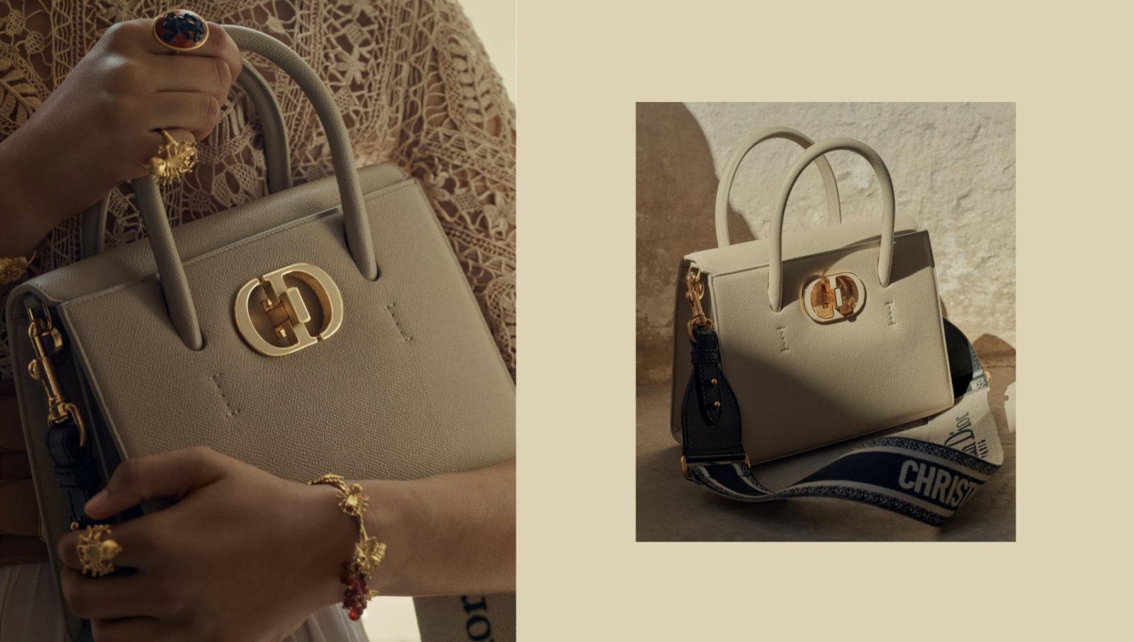 散發出典雅高貴氣息的 Dior St Honoré 全新包款絕美登場