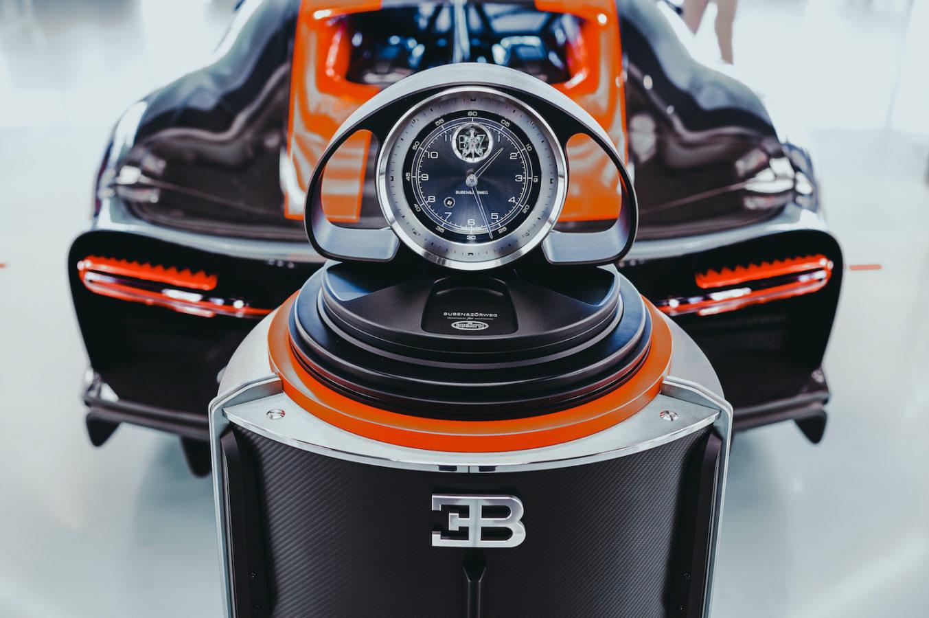 法國超跑BUGATTI跨界德國頂級腕錶收藏儀 混血機械錶上鍊儀收藏櫃限量問世