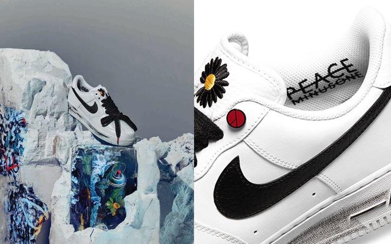 2020年末爆款球鞋再一發!NIKE X G-DRAGON Air Force 1聯名雛菊小白鞋11/25 開賣