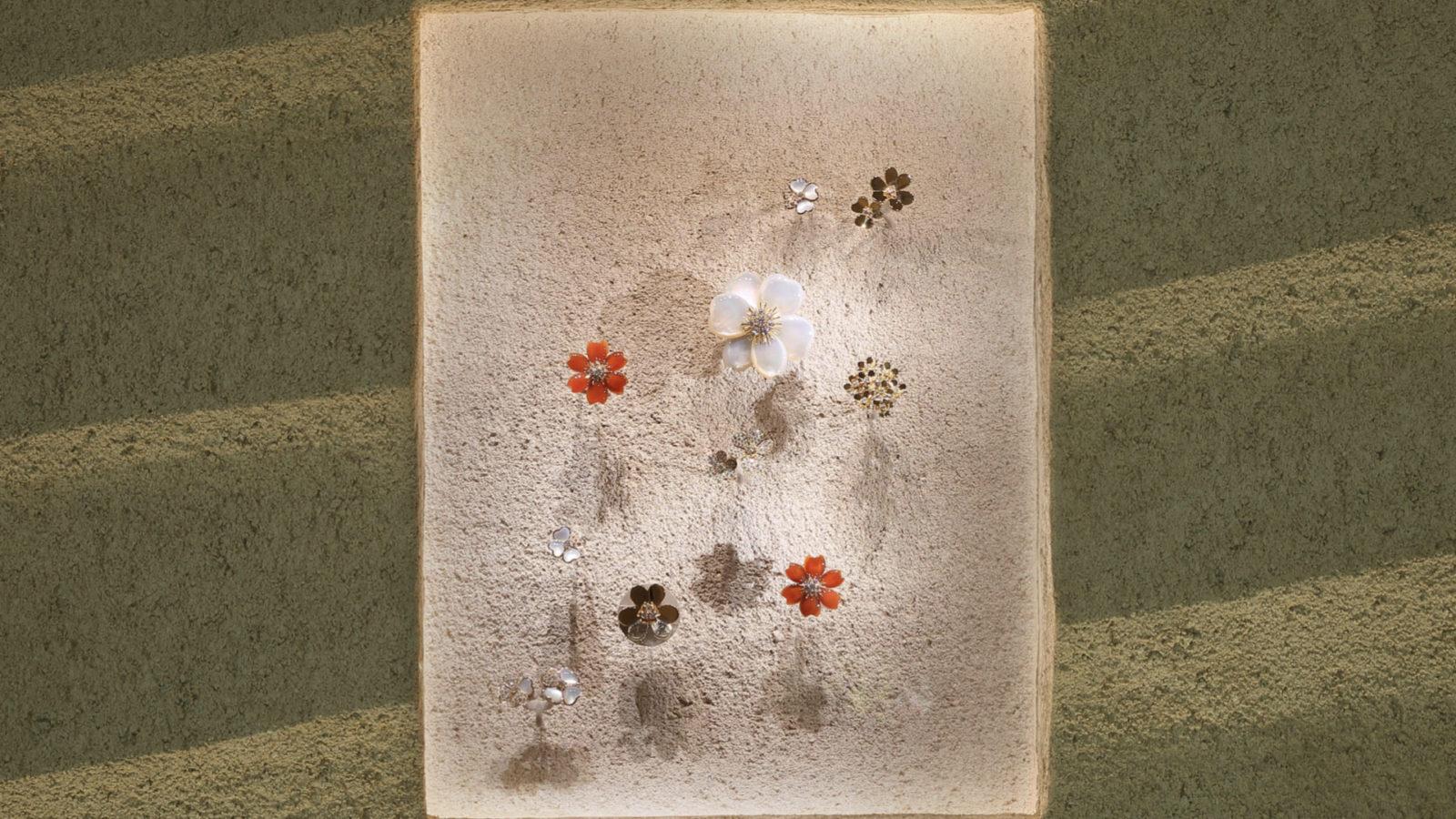 Van Cleef & Arpels 於東京舉行 LIGHT OF FLOWERS 期間限定展覽