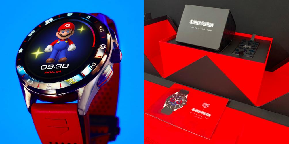 【編輯開箱】讓瑪利歐陪你動起來!TAG Heuer聯名超級瑪利歐推出超夢幻組合限量智能腕錶
