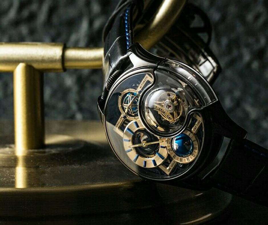 融合中華文化的陀飛輪腕錶,萬希泉星恆系列─尊爵版黑色特別版
