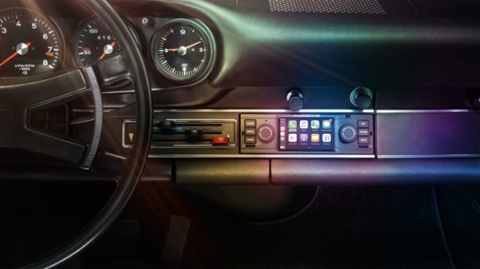 Porsche's New Smart Radio can be Fitted into Vintage & Classic Cars