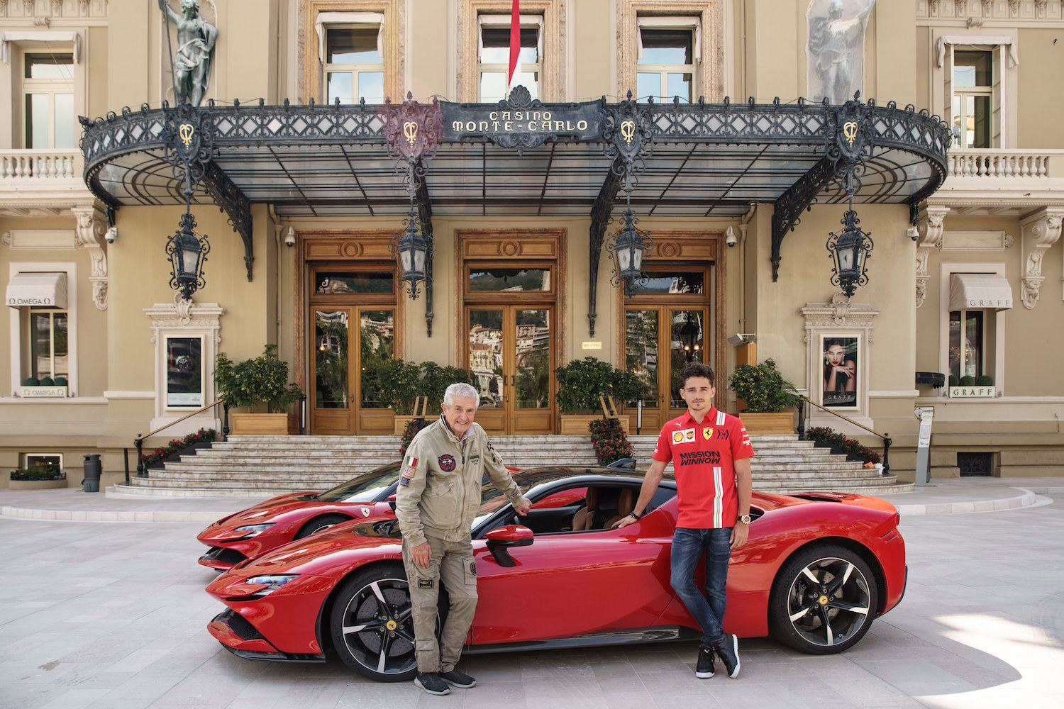 Le Grand Rendezvous The Cinematic Debut Of The Ferrari Sf90 Stradale