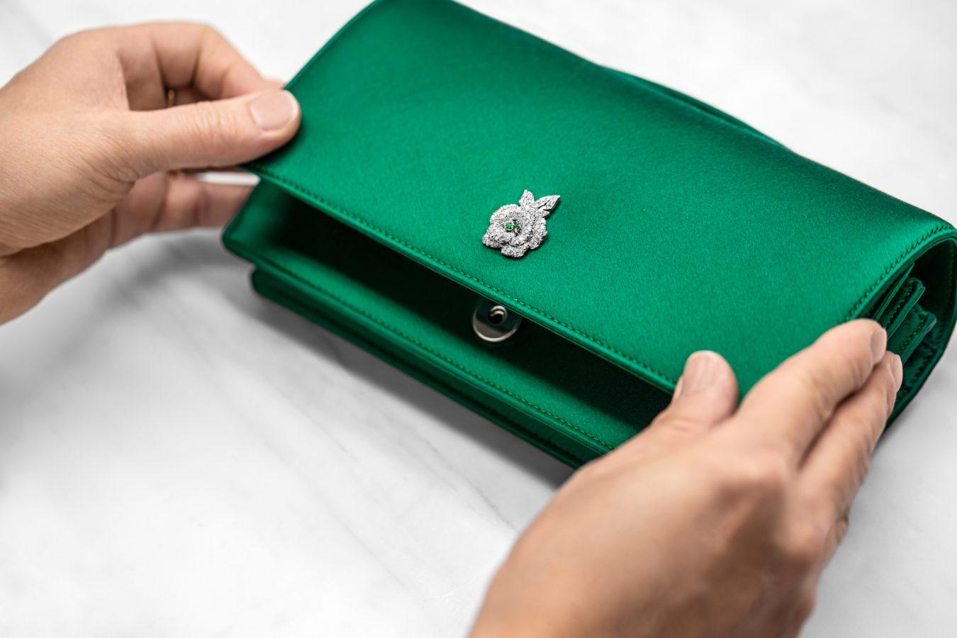 The Savoire-Faire Behind Dior's Opulent Diamond Rose Gem Clutch