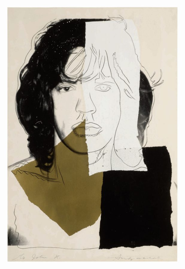 Andy Warhol's portrait of Mick Jagger to go under the hammer at Sotheby's