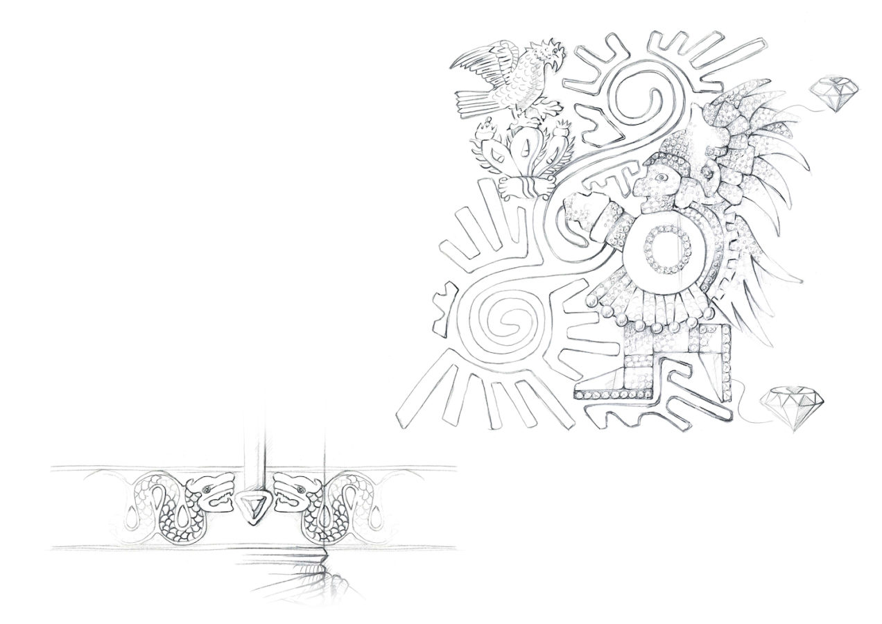This New Montblanc Fountain Pen Pays Tribute to the Great Aztec Ruler Moctezuma I