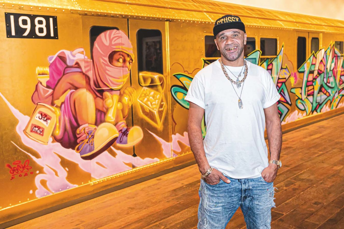 DJ, Musician, Actor, and Artist Goldie Talks Rebel Art, and His Newly Opened Aurum Gallery