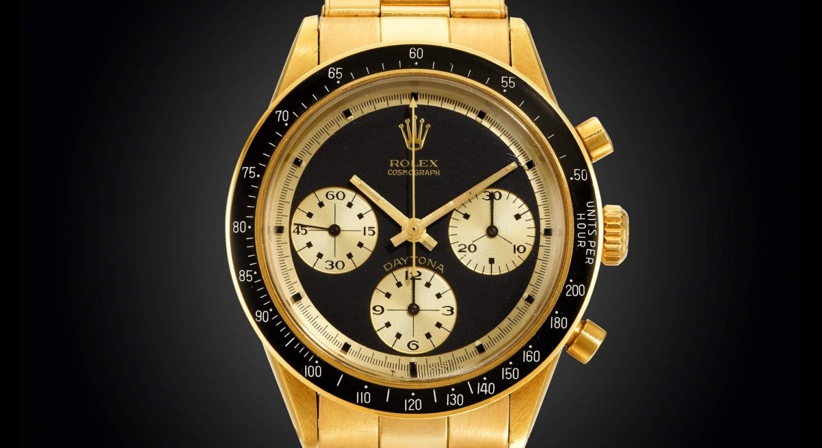 A Rolex Daytona sets a record as the most expensive watch ever sold in an online auction