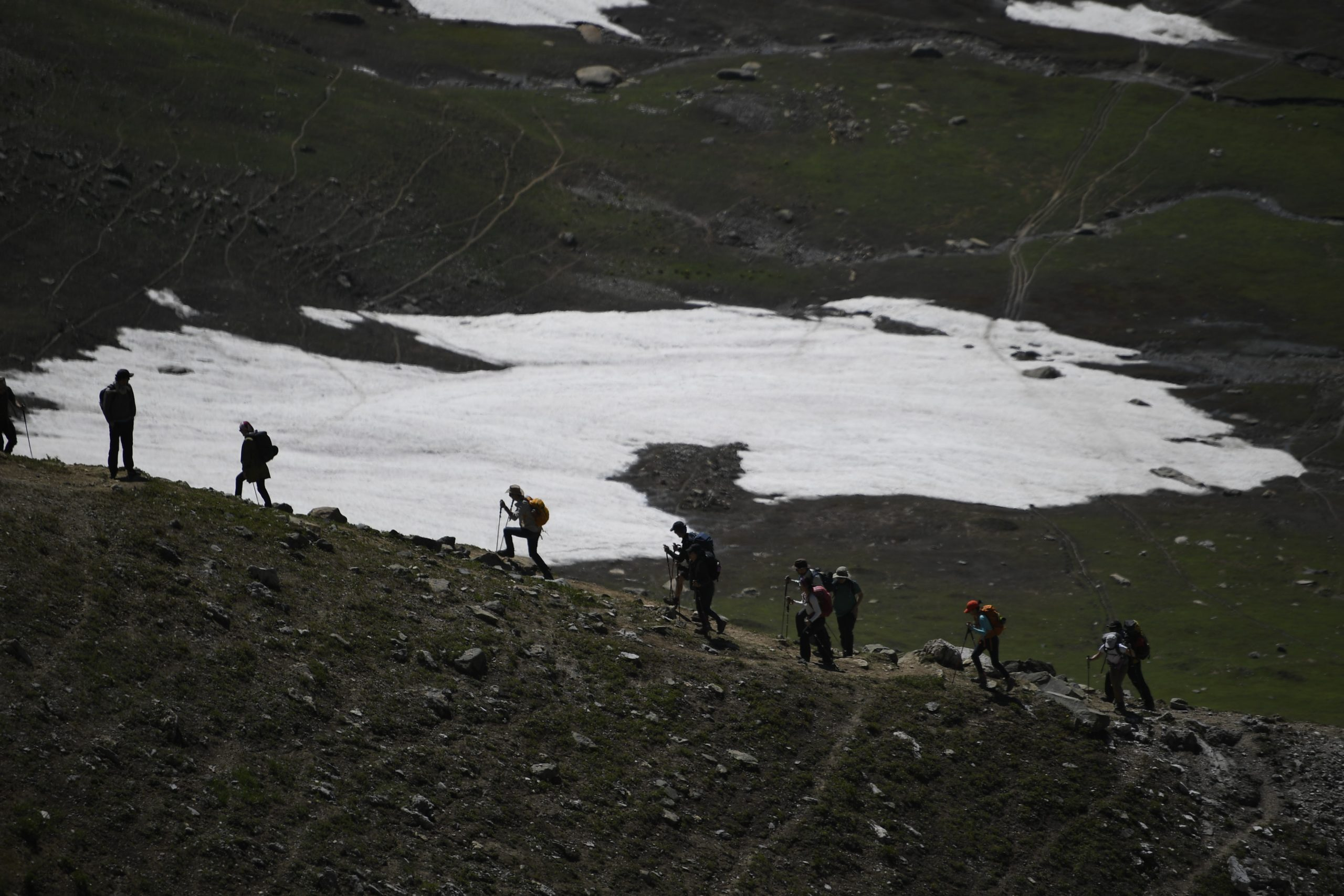 Pantila Debhakam best adventure trips: An adventure trip in Kashmir, India.