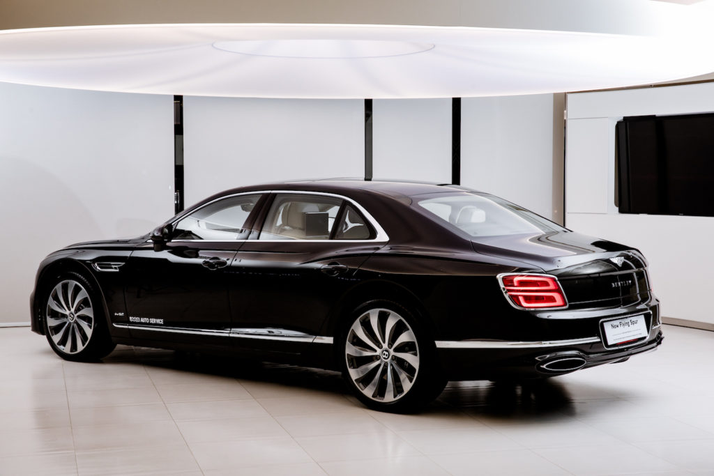 Free Test-Drive of The All-New Bentley Flying Spur