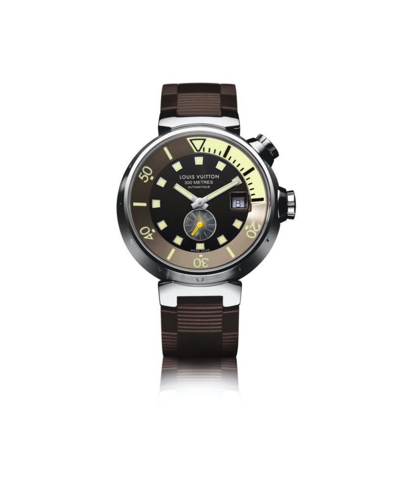 2004: Tambour diving, louis vuitton watches