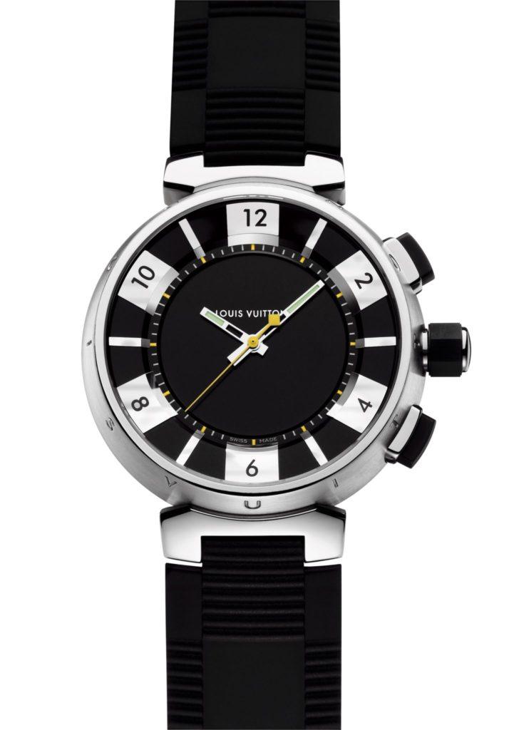 2006: Tambour in Black GMT, louis vuitton watches
