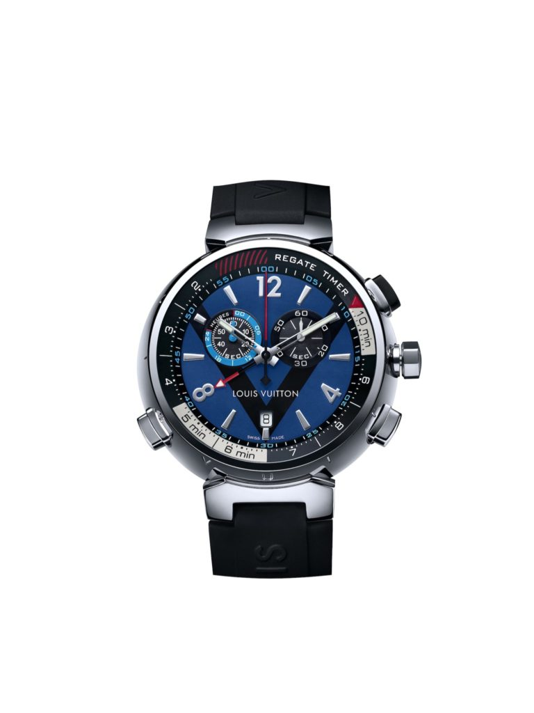 2011: Tambour regatta, louis vuitton watches