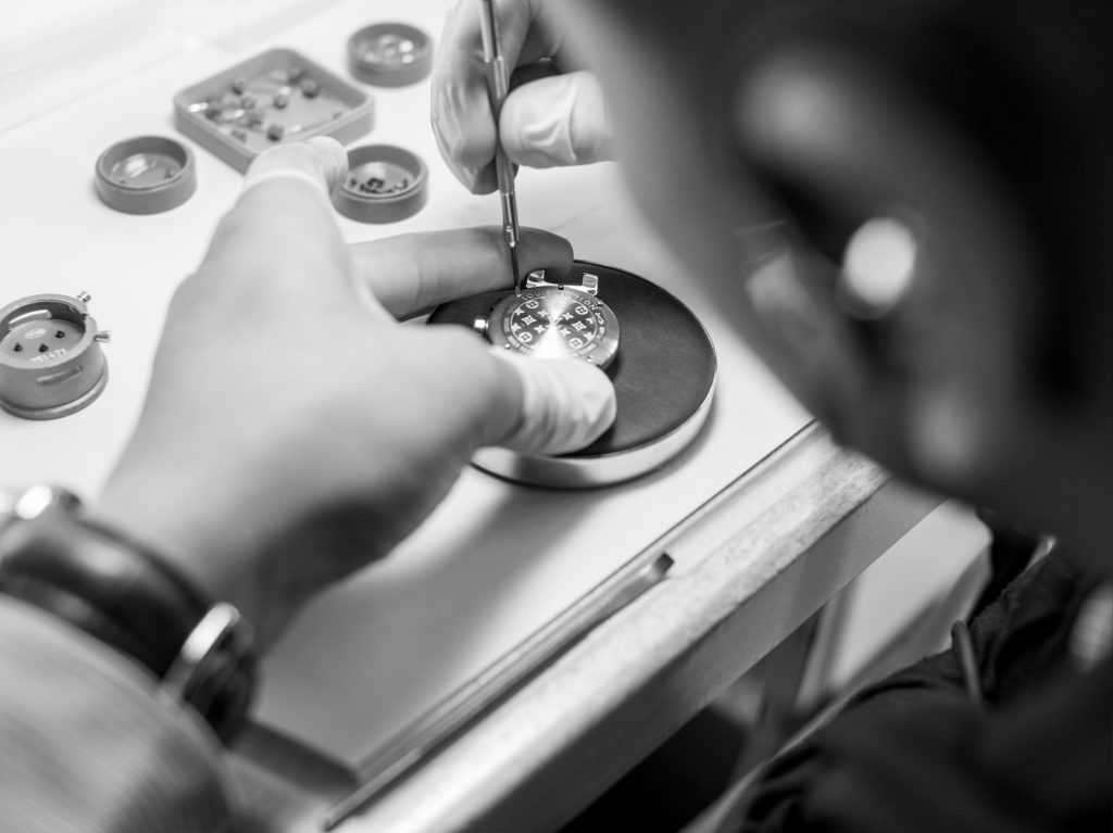 Watchmaker, louis vuitton watches
