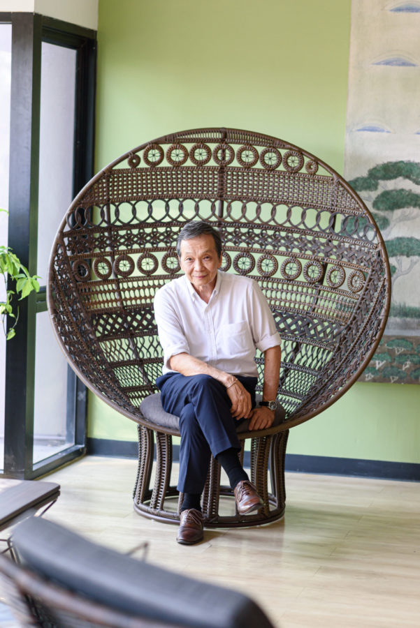 Interior Designer Suwan Kongkhunthian Shares His Process Behind Handcrafting Beautiful Chairs