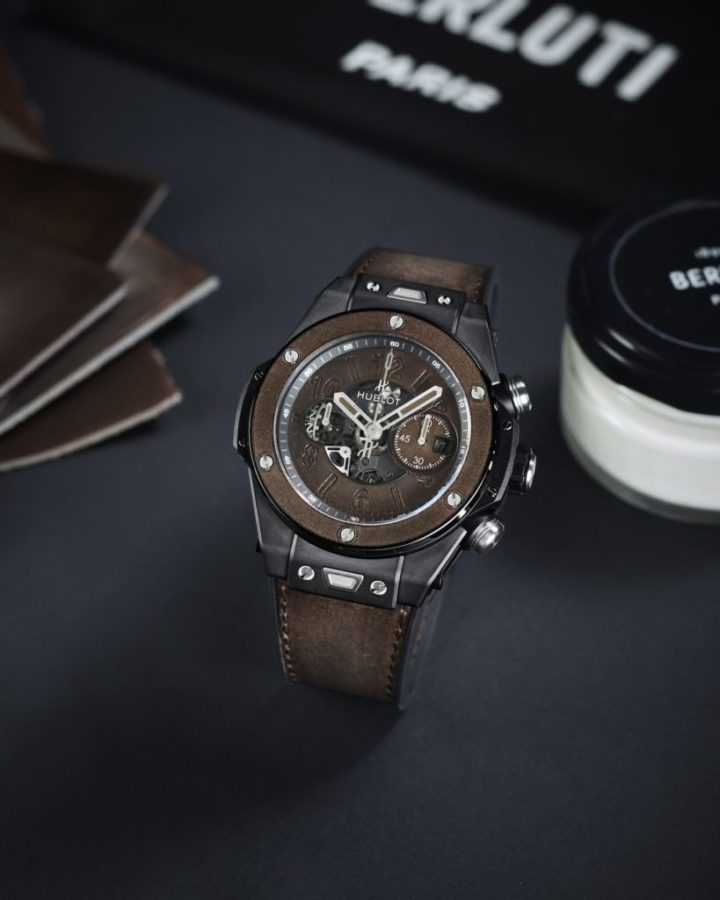 Hublot teams up with Berluti  for a new limited-edition Big Bang Unico