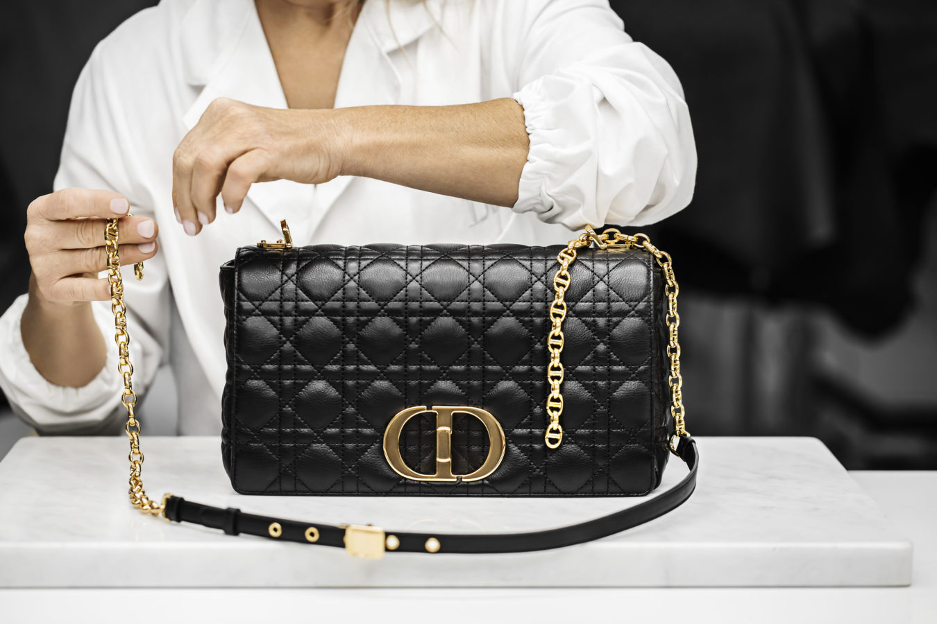 Up your style game this 2021 with the new Dior Caro bag