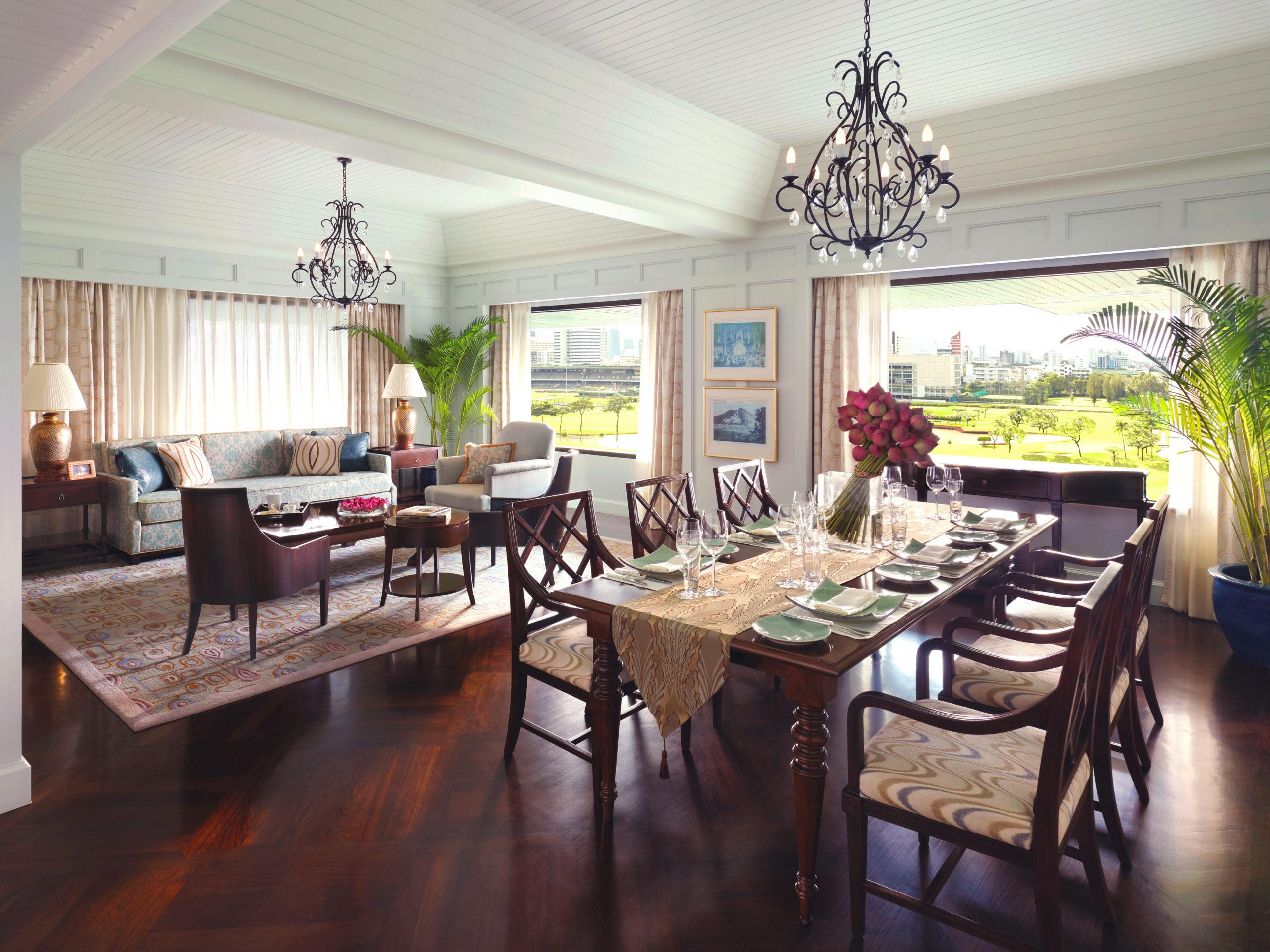 Anantara Siam, private dining, suite life