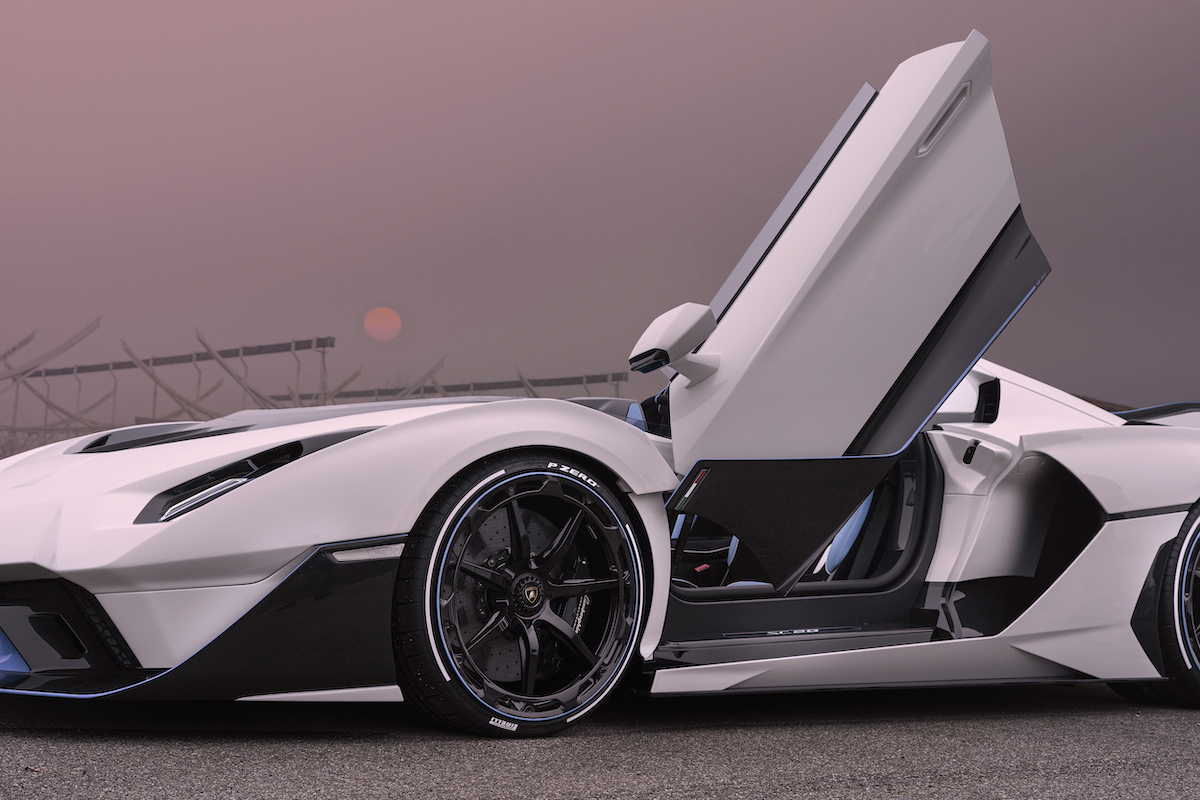 This Stunning One-Off Lamborghini Roadster is now Track Ready and Road Legal: