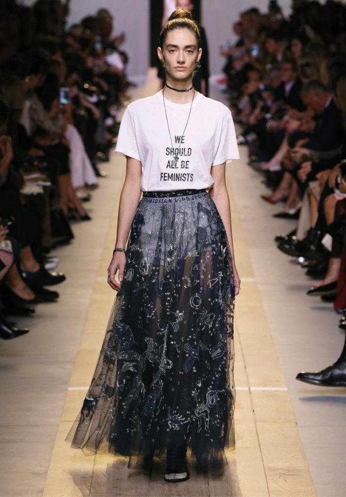 Dior SS2017 We-Should-All-Be-Feminist tshirt