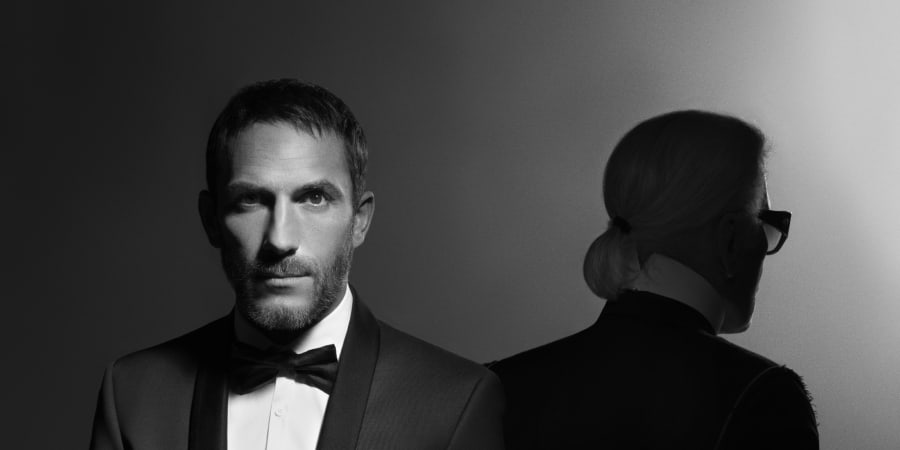 Sébastien Jondeau and His New Book Entitled Karl Lagerfeld