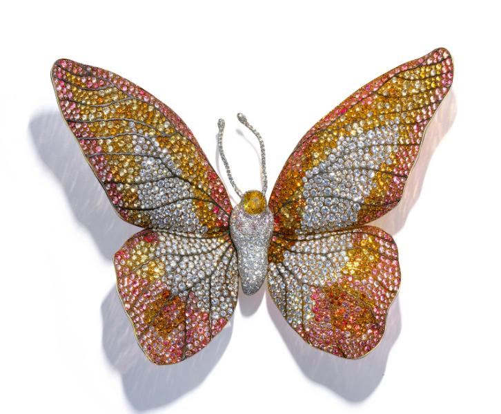 JAR butterfly brooch