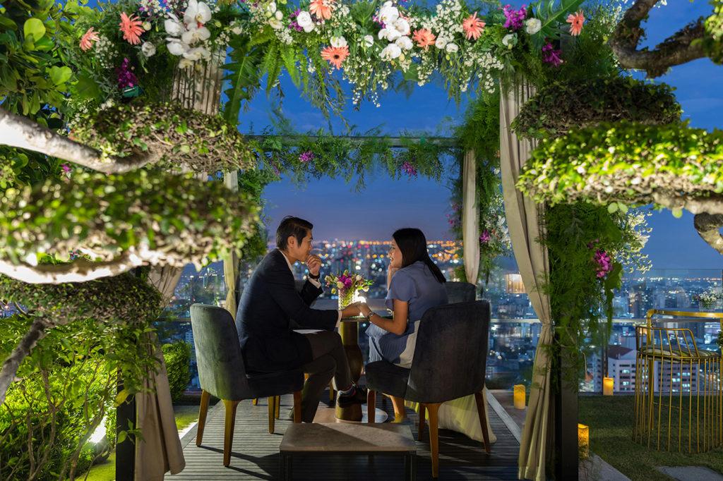 137 Pillars BKK Rooftop Dining