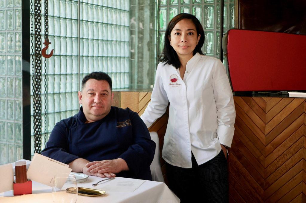 """Chefs Hervé Frerard and Jutamas """"Som"""" Theantae"""
