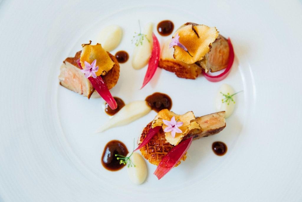 La Bottega - Seared sea scallop and foie gras